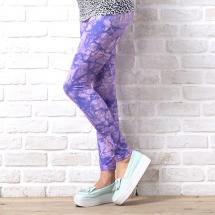 CoolMax吸濕排汗內搭褲《紫色潑墨》