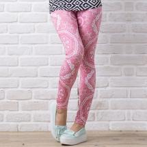CoolMax吸濕排汗內搭褲《粉色浪漫》