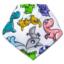 CoolMax吸濕透氣防水口水巾、領巾 _ 侏儸紀恐龍