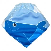 CoolMax吸濕透氣防水口水巾、領巾 _小鯨魚