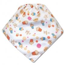 CoolMax吸濕透氣防水口水巾、領巾 _Cute cake