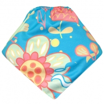 CoolMax吸濕透氣防水口水巾、領巾 _Flower World