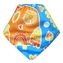 CoolMax吸濕透氣防水口水巾、領巾 _貓頭鷹