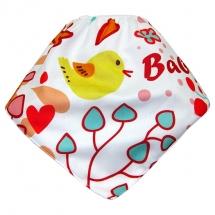 CoolMax吸濕透氣防水口水巾、領巾 _ HAPPY BIRD