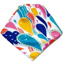 CoolMax吸濕透氣防水口水巾、領巾 _ 繽紛變形蟲