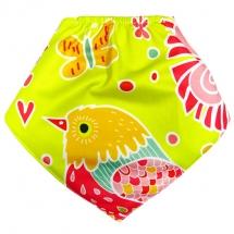 CoolMax吸濕透氣防水口水巾、領巾 _ 小鳥啾啾