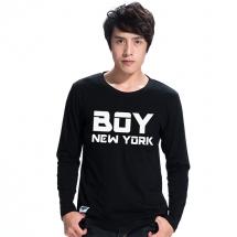純棉長袖圖T【BOY NEWYORK】