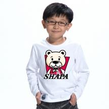 SHAPA保暖圓領兒童純棉T恤★長袖T恤潮TEE★肯德基熊熊
