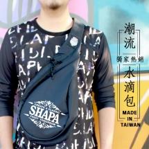 日系多功能-水滴斜背包(SHAPA-W006)