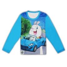 SHAPA保暖圓領T恤(童)_多款全彩滿版★長袖潮TEE★跑車兔兔