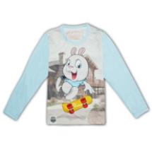 SHAPA保暖圓領T恤(童)_多款全彩滿版★長袖潮TEE★滑板兔兔