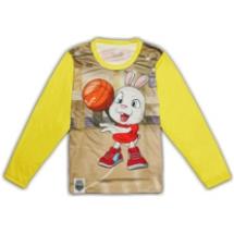 SHAPA保暖圓領T恤(童)_多款全彩滿版★長袖潮TEE★籃球兔兔