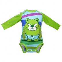 吸濕排汗發熱包臀衣_綠巨熊