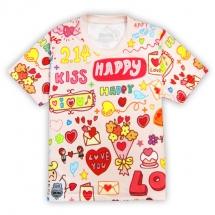 CoolMax吸濕排汗全彩_HAPPY KISS