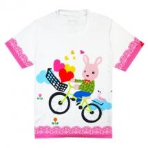 CoolMax吸濕排汗全彩_小兔騎車