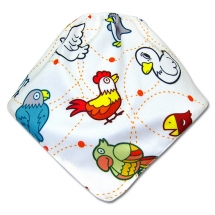 CoolMax吸濕透氣防水口水巾、領巾 _ 小雞連連看