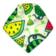 CoolMax吸濕透氣防水口水巾、領巾 _ 清涼西瓜