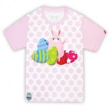 CoolMax吸濕排汗全彩_兔兔復活節彩蛋