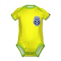 CoolMax吸濕排汗包屁衣_巴西足球隊