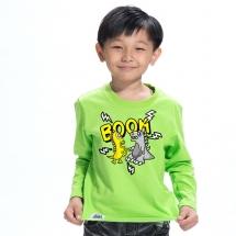SHAPA保暖圓領兒童純棉T恤★長袖T恤潮TEE★BOOM