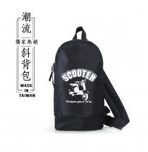 日系多功能-潮流斜背包(SCOOTER)